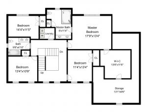 high res floor plan