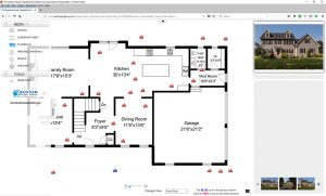 interactive floor plan - photographs & floor plan