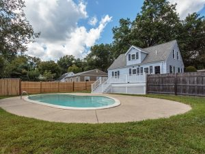 Outdoor Pool Real Estate Photography