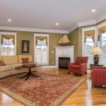 Arlington Center Luxury Living Room